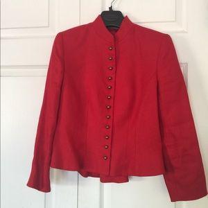 Ralph Lauren 100% Linen military style Jacket SP